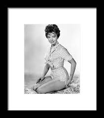 Janet Munro in The Day the Earth Caught Fire Framed Print by Silver Screen