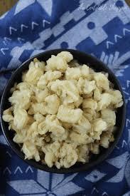 hominy from nixtamal prepared corn
