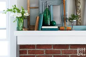 fireplace mantel decorating better
