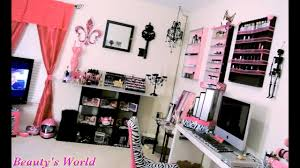 room tour my makeup room tour you
