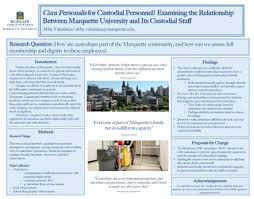 """em>Cura Personalis</em> for Custodial Personnel? Examining Marquette """" by Abby  Vakulskas"""
