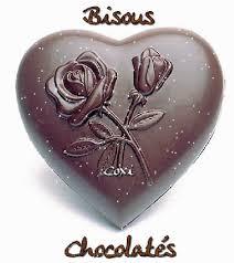 et les bisous chocolatés...