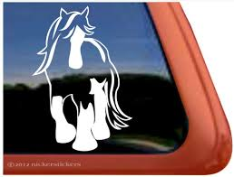 Gypsy Horse Decals Stickers A Nickerstickers