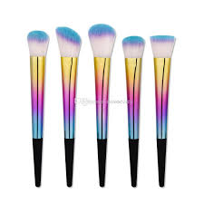 tapered handle makeup brushes dazzle