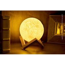 Victsing 3d Print Led Moon Lamp Usb Led Night Light Moonlight Touch Sensor Color Changing Kids Gift 13 Cm White Version Walmart Com Walmart Com
