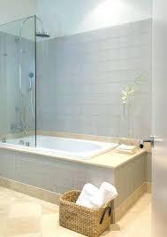 bathroom small tub and shower