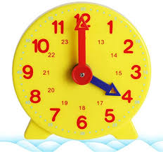 Amazon Com Jackyee Time Learning Clock Teaching Clock Kids Room Playroom Decor Analog Silent Wall Clock Learning Clock Time Resource Montessori Learning Clock Time Teacher Gear Clock 4 Inch 12 24 Hour Home Kitchen