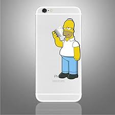 Iphone 6 6s 7 Se Sticker Homer Simpson Eating Apple Decal Art Compatible With All Versions Of Iphone Amazon Co Uk Computers Accessories