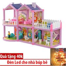 Mô Hình Nhà Búp Bê Cỡ Lớn Cho Các Bé Chơi Đồ Chơi Barbie chỉ ...