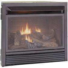 ventless natural gas propane fireplace
