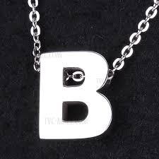 pendant necklace trendy titanium steel