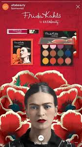 frida kahlo s retouched face in this ad