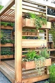garden box deck gardens planter boxes
