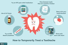 relieve pain from a ed or broken tooth