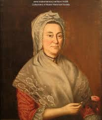 Abigail May portrait, ca. 1780 - Maine Memory Network
