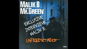 Malik B of The Roots Candid Interview ...