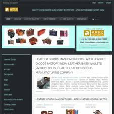 quality leather goods manufacturer