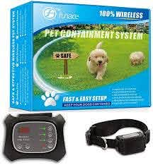 Wireless Pet Fence Free To Roam Wireless Containment For Dogs Rechargeable Waterproof Vibration Static