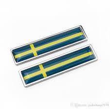 Exterior Accessories Sweden Swedish Flag Emblem Screw On Car License Plate Decal Badge Brindesmd Com Br