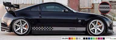 Sticker Decal Stripe For Nissan 350 Z Xenon Side Tail Rear Spoiler Light Head Nissan 350z Nissan Bmw