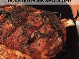 oven roasted pork shoulder recipe