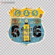 Vinyl Sticker Decal Vintage Route 66 Gas Sign Atv Car Garage Bike Labor Grunge Station Luxury 30 X 285 Inches Fully Waterproof Printed Vinyl Sticker Check Price Angelacvavdeeva