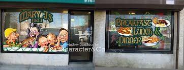 Custom Window Graphics Character Company