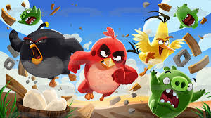 The Angry Birds 2 Terrence Chuck Bomb Green Pigs Running Edible Cake T – A  Birthday Place