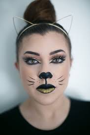 halloween makeup glam kitty live