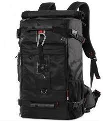 bag black multifunctional 40l oxford