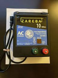 Usa Zareba 50 Mile Electric Fence Controller Ac A50li Low Impedance Charger For Sale Online Ebay