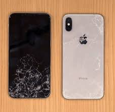 shocking repair s for the iphone x