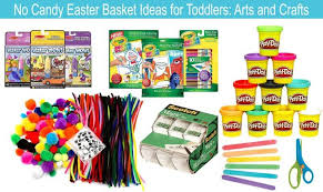no candy easter basket ideas for