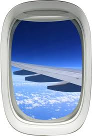 Amazon Com Airplane Window Decal Wing Sky Clouds Mural Peel And Stick Aviation Decor Vwaq A02 Home Kitchen