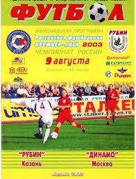 Рубин Казань Динамо Москва 2003 Премьер лига