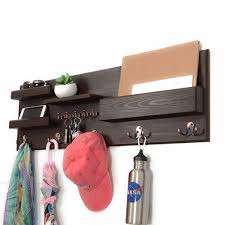 key holder for wall mail organizer