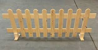 Strong Wooden Freestanding Portable Picket Fence Panels 3ft X 2ft 4 Timber Ebay