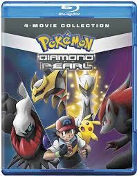 Amazon.com: Pokémon Diamond & Pearl Movie Collection Standard (BD ...