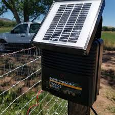 Power Wizard 12v Solar Charger 0 15 Joule Ramm Horse Fencing Stalls