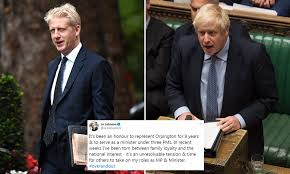 Jo Johnson quits: Boris' brother announces he will resign as an MP ...