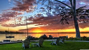 sunset hdr ultra hd desktop background
