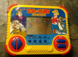 Tiger Electronics Tom And Jerry The Movie Handheld Game LCD 1993 ...