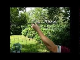 9 Deer Fence Installation Videos Hanging The Fencing Youtube