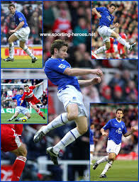 James BEATTIE - League appearances for The Toffees. - Everton FC