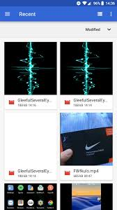 set an animated gif or an mp4 video