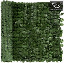 Amazon Com Faux Ivy Privacy Fence Screen Artificial Hedge Fencing Outdoor Privacy Fence Screen Wall Home Garden Yard Decoration Available In 3 Sizes Size 100100cm Home Kitchen