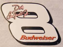 Free Dale Earnhardt Jr Budweiser Sticker Decal 8 Other Car Items Listia Com Auctions For Free Stuff