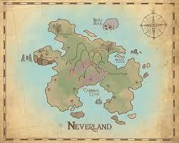 Peter Pan Nursery Neverland Map Map Of Neverland 20x16 Nursery Art Print Neverland Series In 2020 Peter Pan Nursery Neverland Nursery Neverland Map