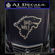 Doctor Who Bad Wolf House Of Stark Game Of Thrones D2 Decal Sticker A1 Decals