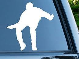 Drake Hotine Bling Dance Car White Vinyl Decal Ebay